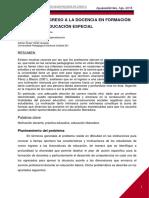 Motivos de Ingreso a La Docencia en Formación Inicial Para Educación Especial (2)