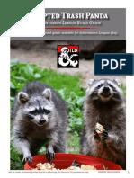 Adopted Trash Panda Druid Character Build Guide