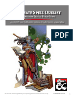 Ultimate Spell Duelist Character Build Guide