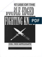 Applegate Rex - Combat Use of the Double-edged Fighting Knife