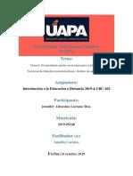 Tarea II Educ. a Distancia El Estudiante Adulto en La e. a d.
