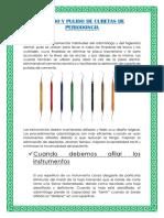 Curetas de Periodoncia