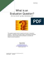 Eval Question