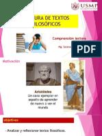 Semana 9 - Textos Filosoficos (1)