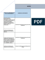Matriz de Analisis Frp
