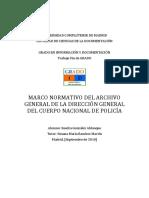 MARCO NORMATIVO DEL ARCHIVO