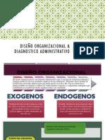 Diseño Organizacional & Diagnostico Administrativo