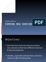 Forming New Substances Ch 14.1 8th