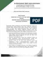 propil para hidroksibenzoat tdk utk oral_Surat edaran tentang pengawet propyl paraben & grace period.pdf