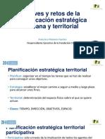 Claves y retos de la planificación estratégica urbana y territorial