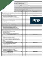 Evaluación General de SST - TIENDAS