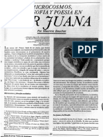 Microcosmos, Filosofía y Poesía en Sor Juana