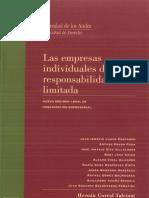 Cuaderno de Extensin Jurdica N 8 Las Empresas Individuales de Responsabilidad Limitada