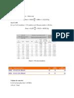 Volume e Peso de Aço e Concreto - Pilares e Fundação