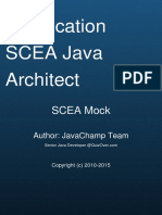 Sun Certified Enterprise Architect Scea Exam