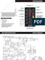 Dtech VCF - Erica Synths (Construction Manual)