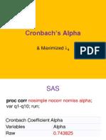 Cronbach