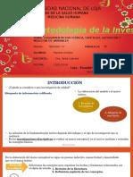 Fundamentación Teórica, Hipótesis, Definición y Medición de Variables (1)