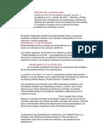HISTORIA de LA PSICOLOGIA El Término Psicología Proviene de Las Palabras Griegas