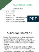 Sst Project by Sreyansh Surana