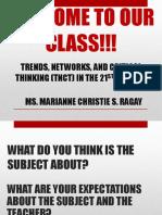 CLASS ORIENTATION - TRENDS.pptx