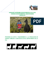 Programa de Forraje de Camelidos 2017-2018