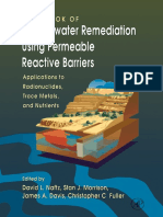 Handbook of groundwater remediation using permeable