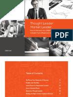 Thought Leader Market Leader