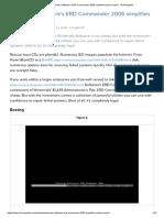 ERD Commander 2005 Simplifies System Repair - Winternals Software [TechRepublic]