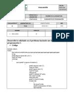 Evaluacion 1 Programacion