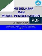 TEORI BELAJAR DAN MODEL PEMBELAJARAN 2018 Ok - Teori-belajar-dan-model-pembelajaran-2018-Ok