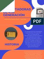 Computadoras de 4ta Generación Meriam Ollarves 1ro b