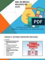 Unidad 5. Sistema Financiero Mexicano
