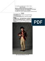 """(Research File) """"Short skirted, according to the dress of our soldiery."""" An Overview of Continental Army Early-War Regimental Coat Design (With contributions by Henry M. Cooke IV and Matthew Keagle)"""