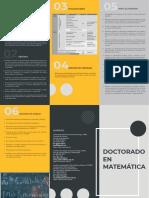 Doctorado Matematica Brochure_11x17 Para Imprimir