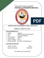 Sistema de Tranmision Por Cadenas de Rodillo Practica N 03