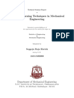 Seminar Report Machine Learning