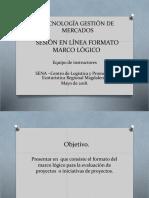 Presentación Marco Logico