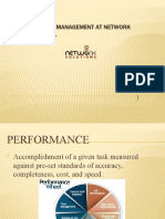 Performance Management at Network Solutions, Inc.