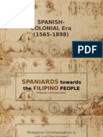 Spanish Era Report G2