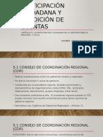 Participación Ciudadana y Rendición de Cuentas
