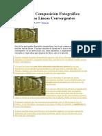 DZoom Jose Rodriguez - Lineas Convergentes Potencia Tu Composición Fotográfica Con Ellas