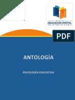 3-6 ANTOLOGIA  Psicología educativa