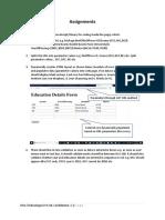 Assignment WKA Technologies