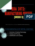 Week 5 - Metal Casting