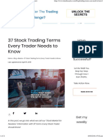 37 Stock Trading Terms Every Trader Needs to Know
