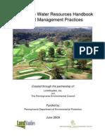 Golf BMP Handbook 3