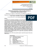 Performance Evaluation of Pd and Lqr Controller for Coupled Mass Spring Damper System