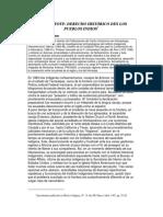 El Peyote, Derecho Histórico de Los Pueblos Indios. Alejandro Camino. 1987