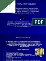 Metodo, Teoria y Metodologia (6 Dp). Andres Castro. 2007